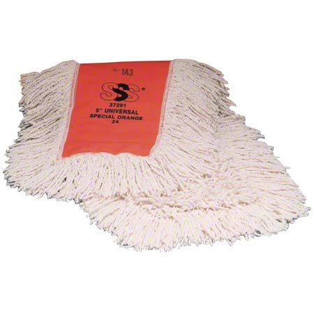 "SSS 5"" X 18"" ENDLESS TWIST COTTON DUST MOP 12CS"