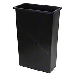 O Cedar® Slim Container - 23 Gal., Black