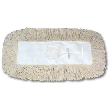 "O'Dell Hygrade Industrial Dust Mop Refill - 24"" L, 3"" Wide"