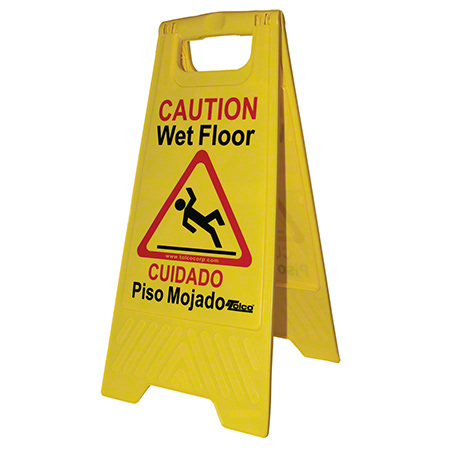 "Tolco® ""Caution Wet Floor"" Wet Floor Sign"