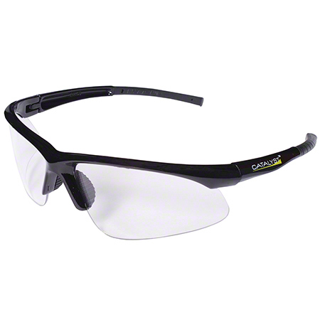 Cordova™ Catalyst™ Safety Glasses-Black Frame/Clear AF
