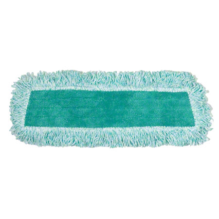 "Rubbermaid® Standard Dust Pad w/Fringe - 18"", Green"