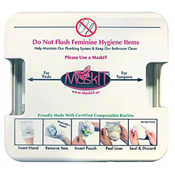 MaskIT® Wall Mounted Dispenser - White