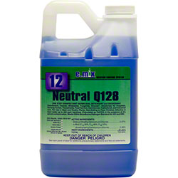 Nyco Neutral Q128 One Step Disinfectant - 64 oz.