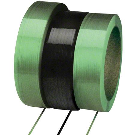 Polychem® Machine Grade Polyester Strap -1/2 x .020, Green