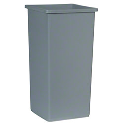 Rubbermaid® Untouchable® Square Container-23 Gal., Gray