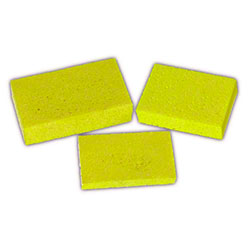 "Large Cellulose Block Sponge -6"" x 3 3/8"" x 7/8"""
