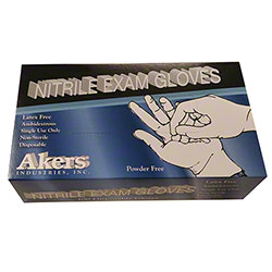 Akers Nitrile Exam Glove - XL