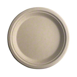 Better Earth Eco-Bamboo Collection Round Plate - 9""