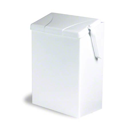 Continental Sanitary Napkin Receptacle - White