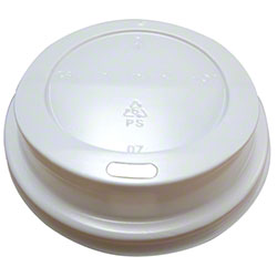 Crystal Ware Dome Sip Through Lid - White