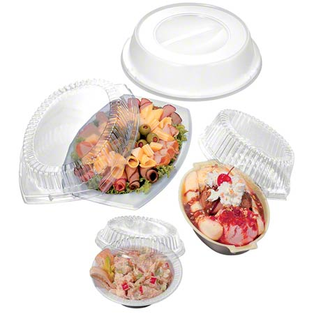 "Dart® Clear Dome Cover For 9"" Plates"