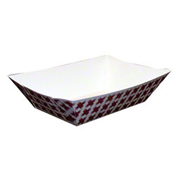 Dopaco® Food Tray - 2 1/2 lb., Basketweave