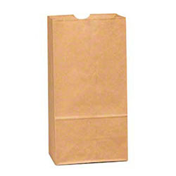 Duro 4# Kraft Grocery Bag