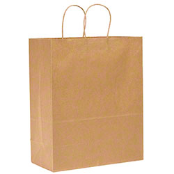 "Duro Kraft Shopping Bag - 13"" x 7"" x 17"", Mart"