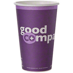 Eco-Products® Co-Op Grocers Paper Hot Cups - 16 oz.