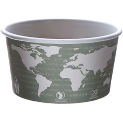 Eco-Products® World Art™ Paper Food Container - 12 oz.
