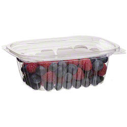 Eco-Products® Rectangular Deli Containers w/Lid - 12 oz.