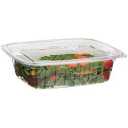 Eco-Products® Rectangular Deli Containers w/Lid - 24 oz.