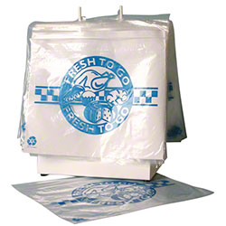 LK® Slide Seal Saddle Pack Deli Bag - 10 1/2 x 8, 2 mil