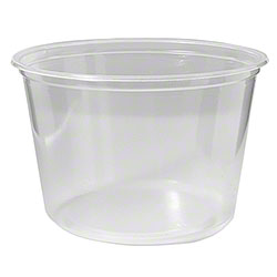 Fabri-Kal® Polypropylene Clear Deli Containers - 16 oz.