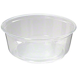 Fabri-Kal® Polypropylene Clear Deli Containers - 8 oz.