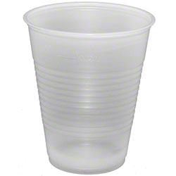 Fabri-Kal® Translucent Cold Cups - 9 oz. w/Sidewall Rings