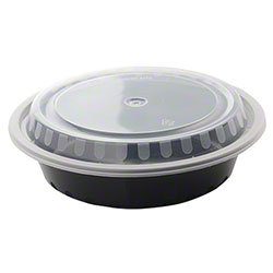 Fineline Settings Microwavable Round Containers w/Lids Combo