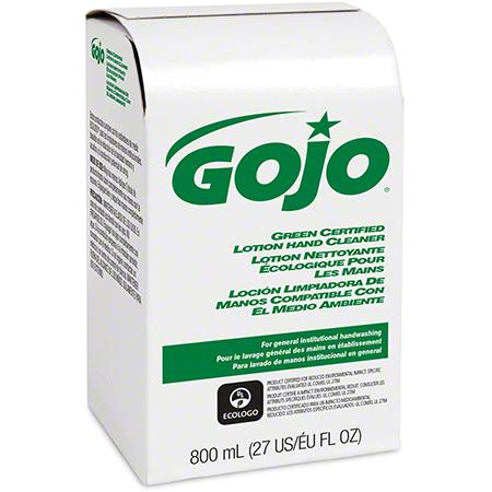 GOJO® Green Certified Lotion Hand Cleaner - 800 mL BIB