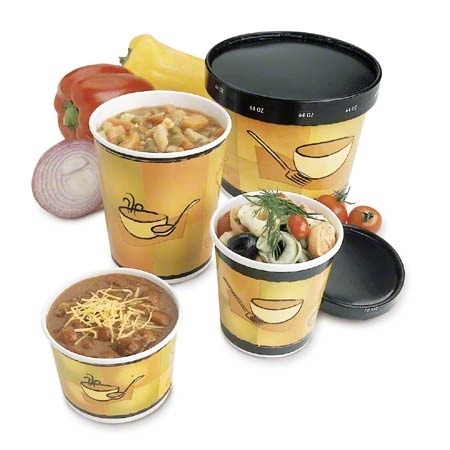 Paper Food Container - 8/10 oz., Streetside™