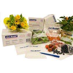 Inteplast Get Reddi® Printed Freezer Bag - Gal.