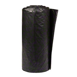 Inteplast LLDPE Institutional Can Liner-24x33, 0.35 mil, BK