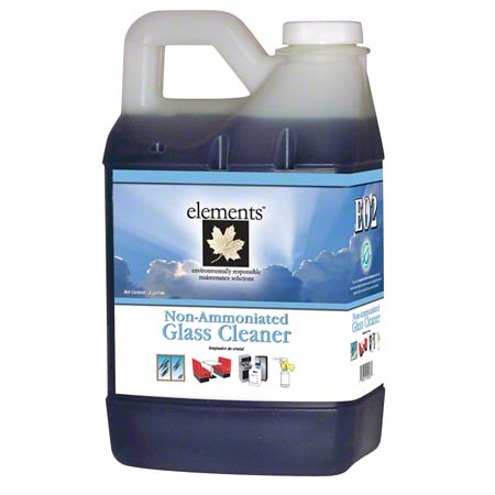 elements™ E02 Non-Ammoniated Glass Cleaner - .5 Gal.