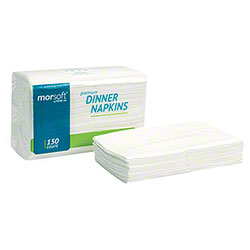 Morcon™ Mor-Soft™ 2-Ply Dinner Napkin - White