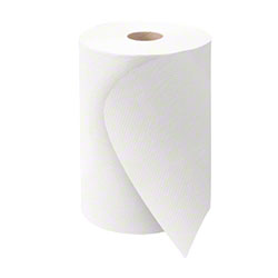 "Morcon™ Mor-Soft™ White Hardwound Towel - 10"" x 800'"