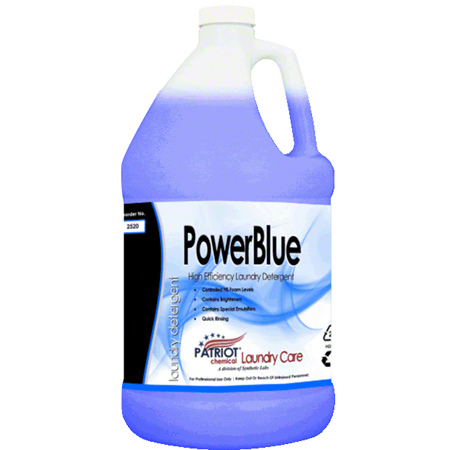Patriot Chemical® Power Blue Detergent - Gal.