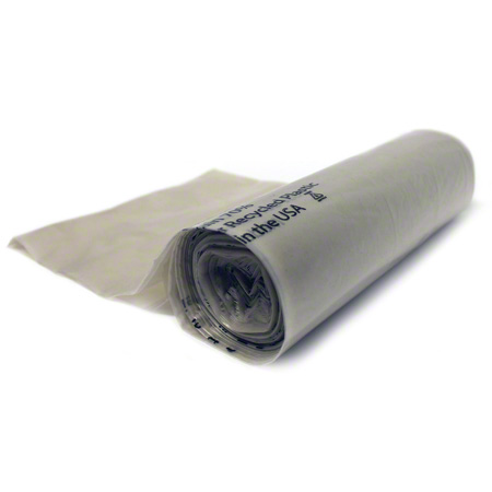 Petoskey Greencore® Can Liner - 33 x 44, 1.25 mil, Clear