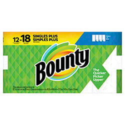 Bounty® Giant White Select-a-Size Paper Towel - 83 ct. Roll