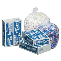 Pitt Vu-Thru Clear Can Liner - 20 x 21, 0.35 mil