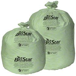 Pitt BioStar Compostable Liner - 38 x 58, 1 mil