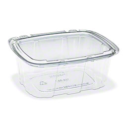 Placon® Crystal Seal® Tamper Evident Clear Container - 8 oz.