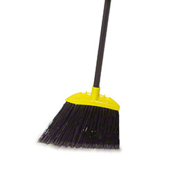 Rubbermaid® Jumbo Angle Broom w/Black Metal Handle