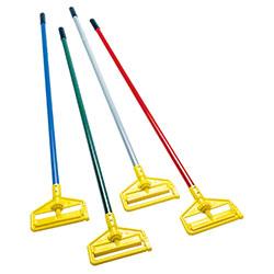 "Rubbermaid® Side Gate Wet Mop Handle-60"" Green,Fiberglass"