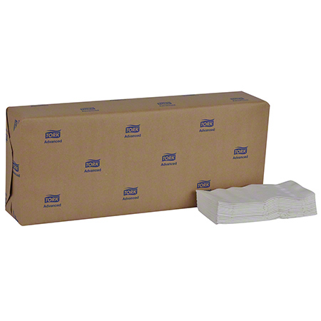 Tork® Advanced 1/8 Fold Soft Dinner Napkin - White
