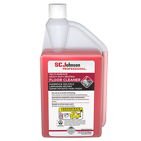 SCJP Heavy Duty Neutral Floor Cleaner - Qt.