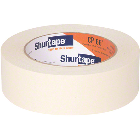 Shurtape® CP66 Contractor Grade Masking Tape -24 mm x 55 m