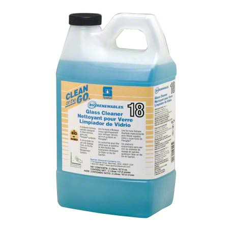 Spartan Clean on the Go® BioRenewables® Glass Cleaner 18