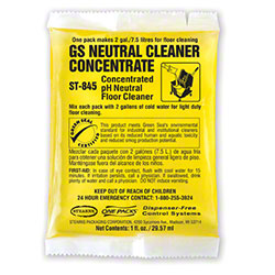 Stearns® ONE PACKS GS Neutral Cleaner Concentrate -1 fl oz
