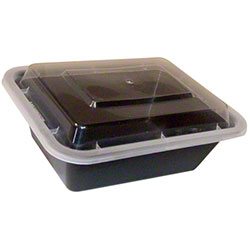 Tripak Rectangular Microwaveable Container Combo-5 x 4 x 1.5