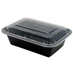 Tripak Rectangular Microwaveable Container Combo -7 x 5 Deep